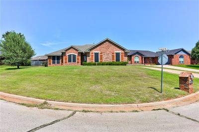Purcell Single Family Home For Sale: 2338 Tailwinds Drive