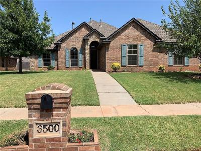 Yukon Single Family Home For Sale: 3500 Sage Brush Place