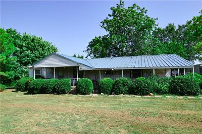 Harrah Single Family Home For Sale: 331326 E Highway 62 Highway