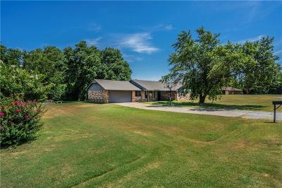 Blanchard OK Single Family Home For Sale: $199,900