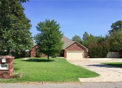 Choctaw Single Family Home For Sale: 1600 Lakeview Drive