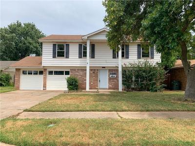 Del City Single Family Home For Sale: 3405 Hillside Drive