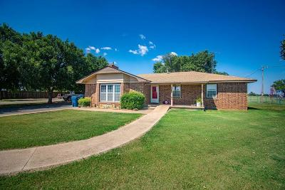 Cordell Single Family Home For Sale: 22391 E 1200 Road