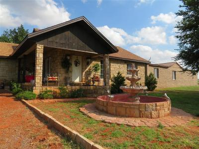 Foss Single Family Home For Sale: 21508 S Frontage Road
