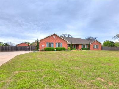 Edmond Single Family Home For Sale: 1100 Brook Forest Road