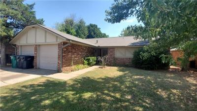 Oklahoma City Single Family Home For Sale: 820 NW 116th Street