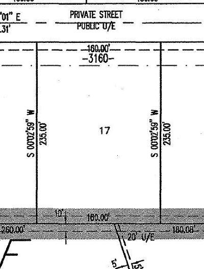 Norman Residential Lots & Land For Sale: 3160 Firefly Drive Drive
