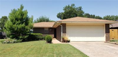 Noble Single Family Home For Sale: 408 Leslie Drive