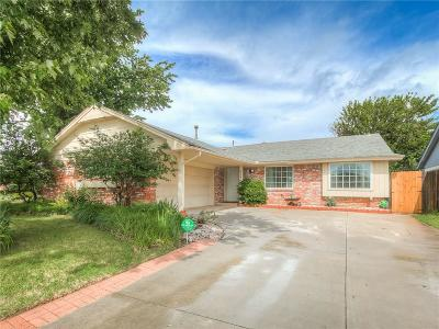 Oklahoma City Single Family Home For Sale: 8508 Tiffany Drive