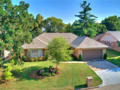 Midwest City Single Family Home For Sale: 12428 Goldsborough Road