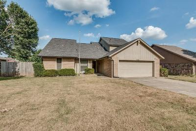 Midwest City Single Family Home For Sale: 520 Three Oaks Drive