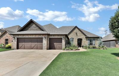 Edmond Single Family Home For Sale: 16001 James Thomas Court