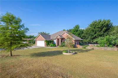 Blanchard OK Single Family Home For Sale: $193,500