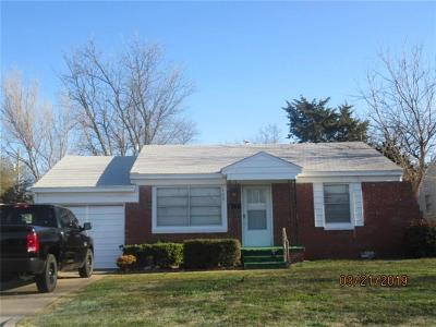 Midwest City Single Family Home For Sale: 309 Bolton Place
