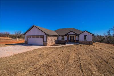 Blanchard OK Single Family Home For Sale: $213,000