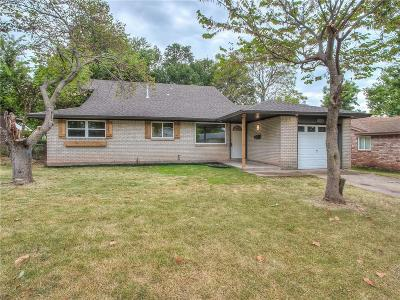 Del City Single Family Home For Sale: 3512 Frostwood Terrace