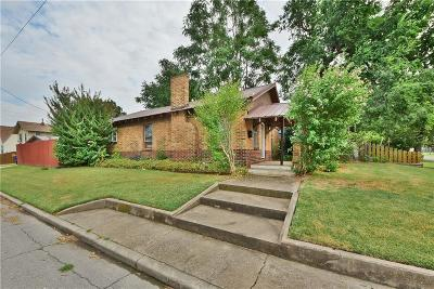 Single Family Home For Sale: 801 S Choctaw Avenue
