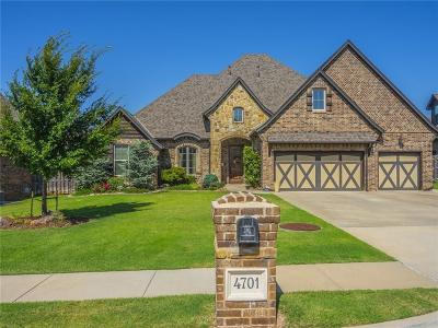 Edmond Single Family Home For Sale: 4701 Sarava Drive