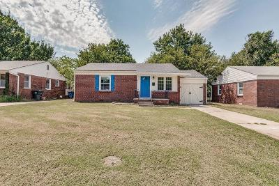 Midwest City Single Family Home For Sale: 406 E Northrup Drive
