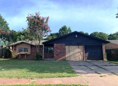 Del City Single Family Home For Sale: 3516 Hillside Drive