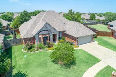 Edmond Single Family Home For Sale: 17121 Kemble Lane