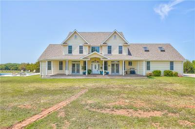 McLoud Single Family Home For Sale: 155 Mystery Acres Lane