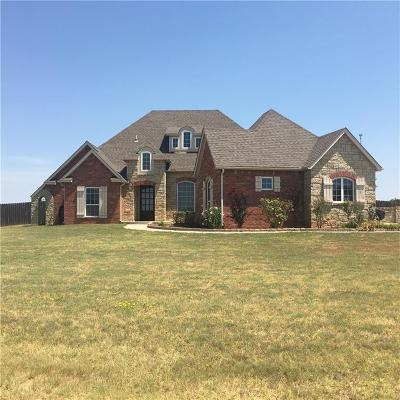 Fort Cobb Single Family Home For Sale: 125 Bella Vista Drive Street