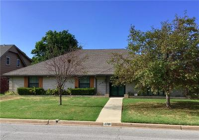 Oklahoma City Single Family Home For Sale: 2701 NW 59th Street