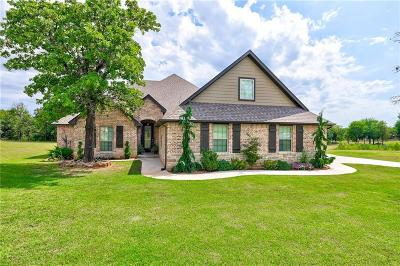 Blanchard OK Single Family Home For Sale: $410,000