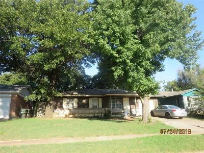 Midwest City Single Family Home For Sale: 1513 McGregor Drive