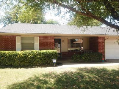 Altus Single Family Home For Sale: 709 Taft Street