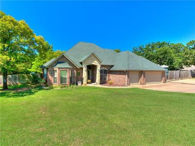 Edmond Single Family Home For Sale: 7005 N Blue Ridge Road