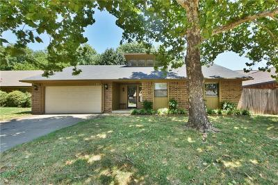 Edmond Single Family Home For Sale: 1308 S Aries Road
