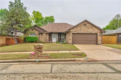 Edmond Single Family Home For Sale: 1412 NW 148th Street
