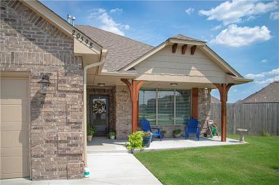 Harrah Single Family Home For Sale: 20598 Pioneer Drive