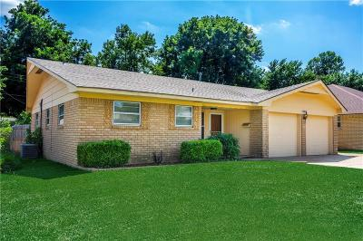 Oklahoma City OK Single Family Home For Sale: $124,900