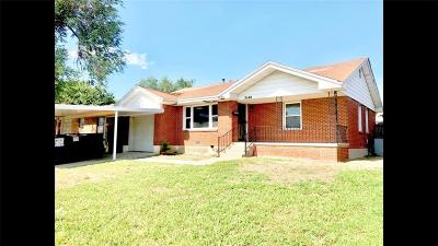 Oklahoma City OK Single Family Home For Sale: $79,500