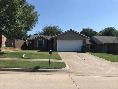 Midwest City Single Family Home For Sale: 8712 Cedar Ridge Drive