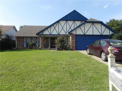 Oklahoma City Single Family Home For Sale: 8340 NW 109th Street