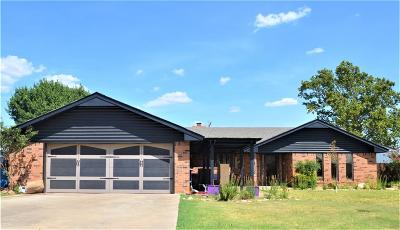 Cordell Single Family Home For Sale: 1630 Crestview Drive