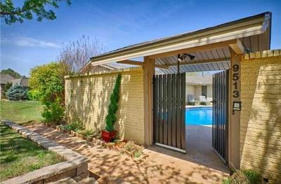 Oklahoma City Single Family Home For Sale: 9513 Lake Lane