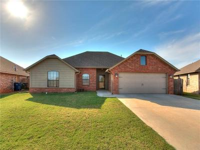 Blanchard OK Single Family Home For Sale: $170,000