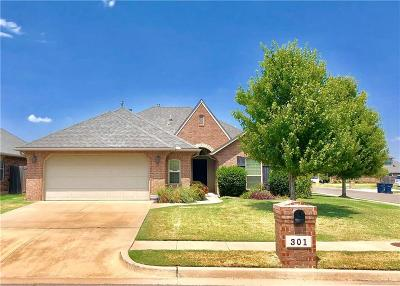 Oklahoma City Single Family Home For Sale: 301 SW 172nd Street
