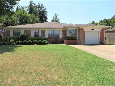 Chickasha Single Family Home For Sale: 14 Cottonwood Drive