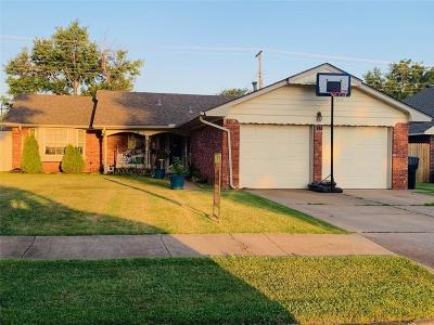 Oklahoma City Single Family Home For Sale: 7717 S Hillcrest Drive