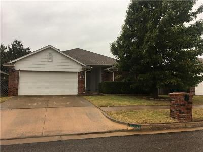 Edmond Single Family Home For Sale: 16221 Seminole Drive