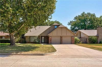 Midwest City Single Family Home For Sale: 208 Three Oaks Drive