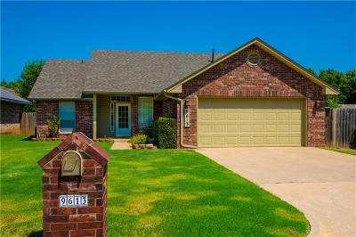Oklahoma City Single Family Home For Sale: 9613 Sun Drop Place