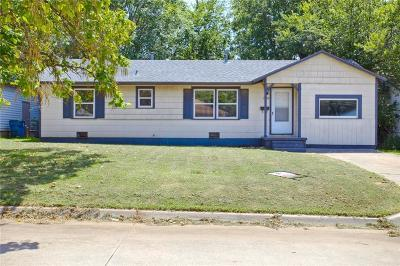 Midwest City Single Family Home For Sale: 1004 S. Holly Drive