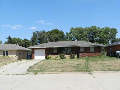 Oklahoma City Single Family Home For Sale: 3917 NW 59th Street